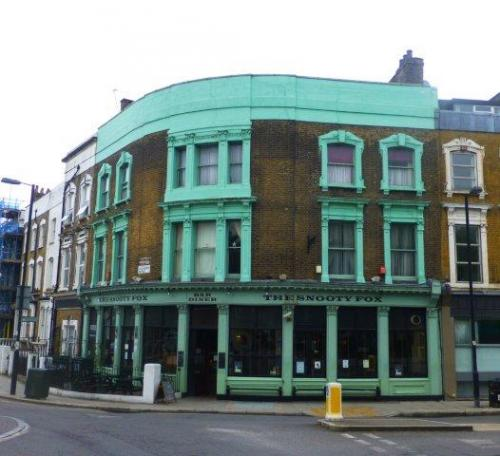 Picture 1. The Snooty Fox, Canonbury, Greater London
