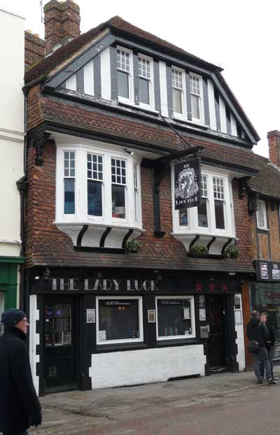 Picture 1. The Lady Luck, Canterbury, Kent