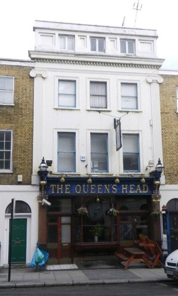 Picture 1. The Queen's Head, King's Cross / St Pancras, Central London