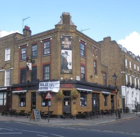Picture 2. George & Monkey (formerly Amwell Arms; Simmons; Filthy MacNasty's; Fountain), Clerkenwell, Central London