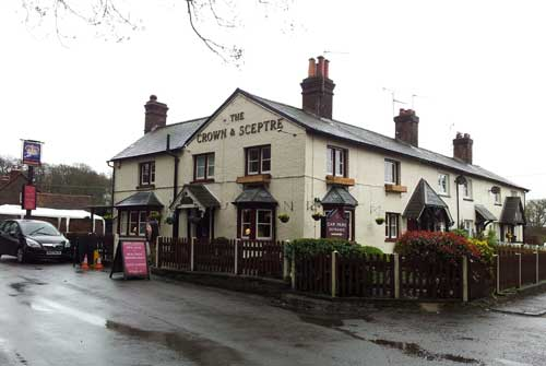 Picture 1. The Crown & Sceptre, Bridens Camp, Hertfordshire