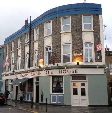 Picture 1. The Railway Tavern Ale House, Hackney, Greater London