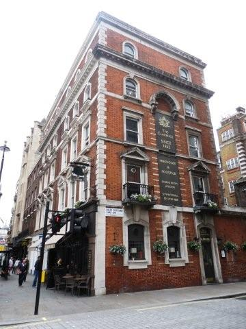 Picture 1. The Clarence, Whitehall, Central London