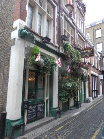 Picture 1. Old King's Head, Borough, Central London