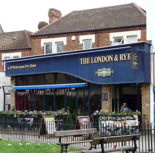 Picture 1. The London & Rye, Catford, Greater London