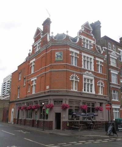 Picture 1. Black Dog, Kennington, Greater London