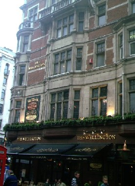 Picture 1. The Wellington, Covent Garden, Central London