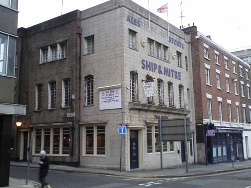 Picture 1. Ship & Mitre, Liverpool, Merseyside