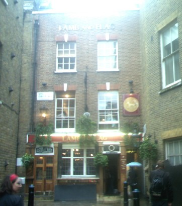 Picture 1. Lamb & Flag, Covent Garden, Central London