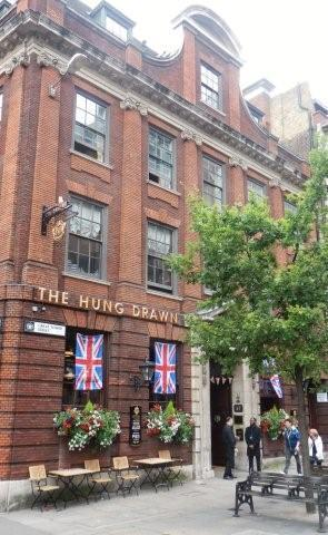 Picture 1. The Hung Drawn & Quartered, City, Central London