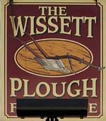 The pub sign. The Plough, Wissett, Suffolk