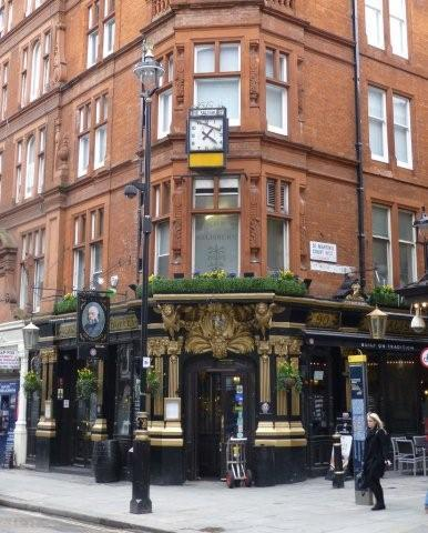 Picture 1. The Salisbury, Leicester Square, Central London