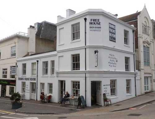 Picture 1. The Royal George (formerly Frank's Front Room), Hastings, East Sussex