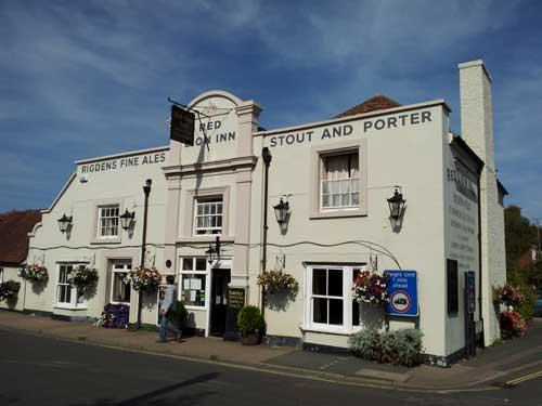 Picture 1. Red Lion Inn, Bridge, Kent