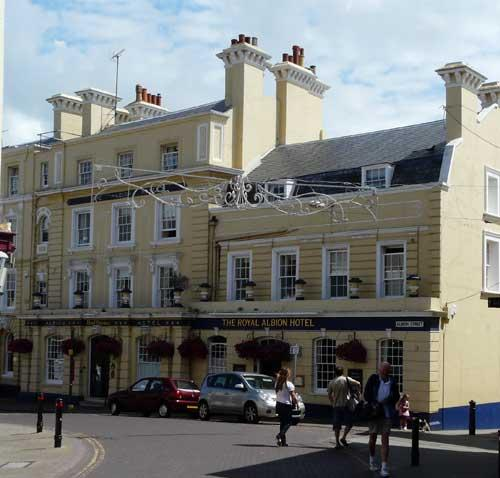 Picture 1. The Royal Albion Hotel, Broadstairs, Kent