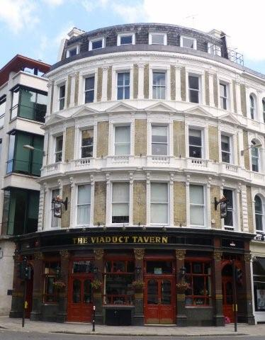 Picture 1. The Viaduct Tavern, City, Central London
