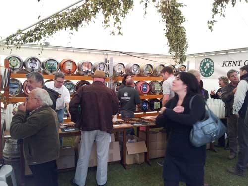 Picture 2. Kent Green Hop Beer Festival 2012, Canterbury, Kent