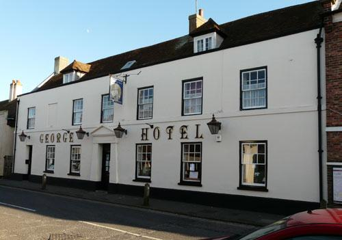 Picture 1. George Hotel, Lydd, Kent