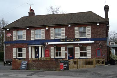 Picture 1. The Rose Inn, Ashford, Kent