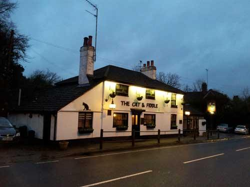 Picture 1. The Cat & Fiddle, Radlett, Hertfordshire