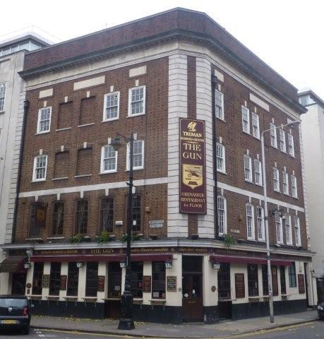 Picture 1. The Gun, Spitalfields, Central London