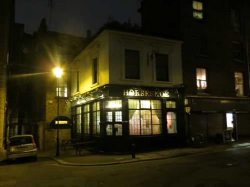 Picture 1. Horseshoe, Clerkenwell, Central London