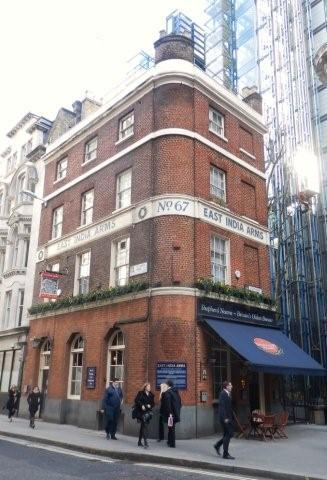 Picture 1. East India Arms, City, Central London