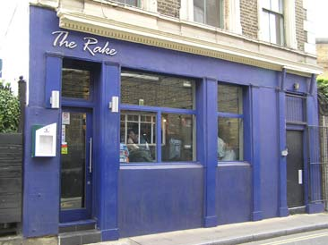 Picture 1. The Rake, Southwark, Central London