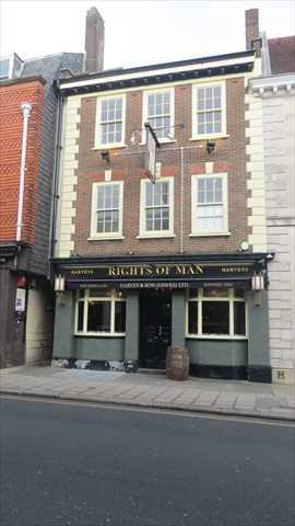 Picture 1. Rights of Man, Lewes, East Sussex