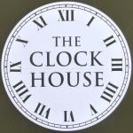 The pub sign. The Clock House, Teddington, Greater London