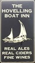 The pub sign. The Hovelling Boat Inn, Ramsgate, Kent