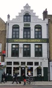 Picture 1. The Crown and Shuttle, Shoreditch, Central London