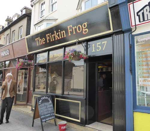 Picture 1. The Firkin Frog, Herne Bay, Kent