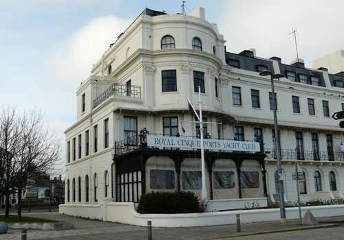 Picture 1. Royal Cinque Ports Yacht Club, Dover, Kent
