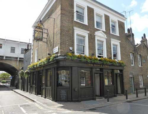 Picture 1. The Kings Arms, Waterloo, Central London