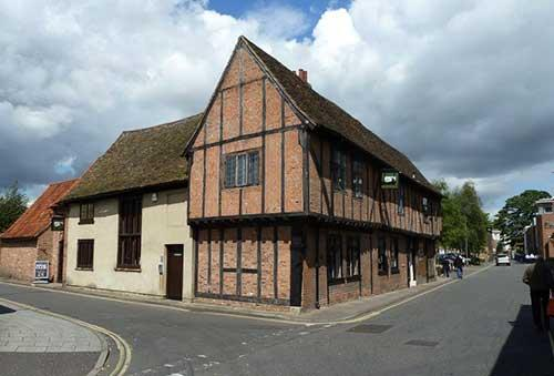 Picture 1. Bishops of Chapel Street (formerly The Lattice House), King's Lynn, Norfolk