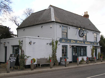 Picture 1. The Black Robin, Kingston, Kent