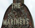 The pub sign. Mariners, Great Yarmouth, Norfolk
