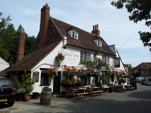 Picture 1. The Rose Inn, Wickhambreaux, Kent