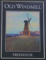 The pub sign. Old Windmill, South Hanningfield, Essex