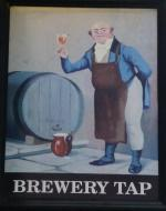The pub sign. Brewery Tap, Abingdon, Oxfordshire
