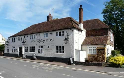 Picture 1. New Flying Horse, Wye, Kent