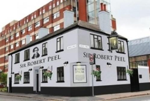 Picture 1. Sir Robert Peel, Leicester, Leicestershire