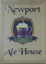 The pub sign. Newport Ale House, Newport, Isle of Wight