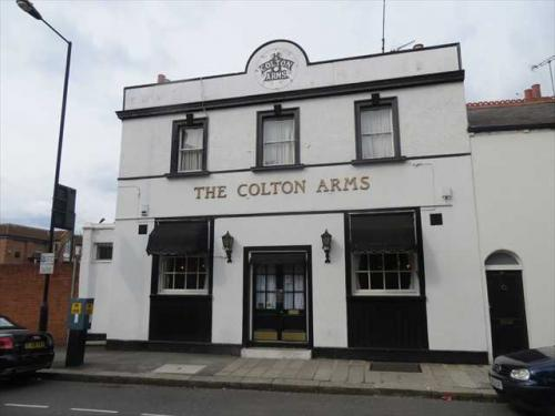 Picture 1. The Colton Arms, Earl's Court, Central London