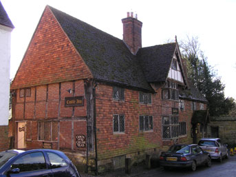 Picture 1. Castle Inn, Chiddingstone, Kent