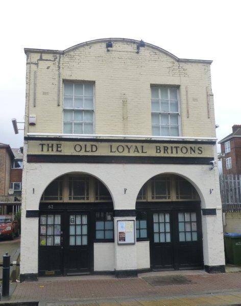Picture 1. RLA's at The Old Loyal Britons, Greenwich, Greater London