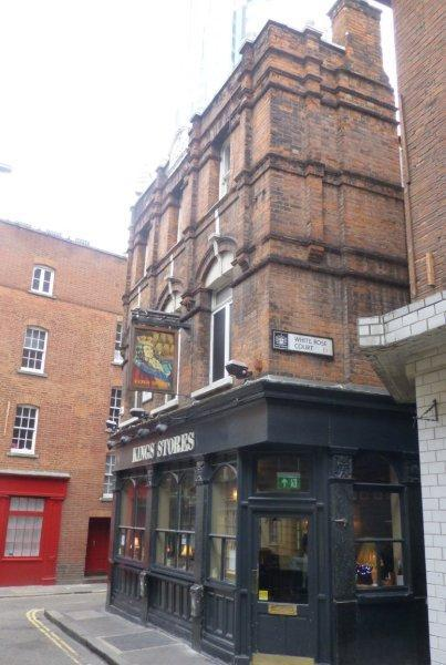 Picture 1. Kings Stores, Spitalfields, Central London