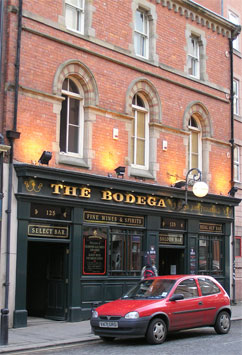 Picture 1. The Bodega, Newcastle-upon-Tyne, Tyne and Wear