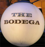 The pub sign. The Bodega, Newcastle-upon-Tyne, Tyne and Wear